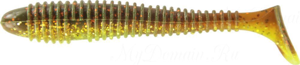 "Приманка съедобная ALLVEGA ""Fat Bonito"" 9,5см 8,5г (4шт.) цвет green oil confetti"