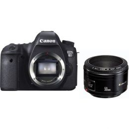 Canon EOS 6D Kit 50mm 1.8 II