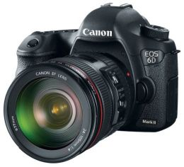 Зеркальный цифровой Фотоаппарат Canon EOS 6D Mark II Kit 24-105mmf/1.4 L I