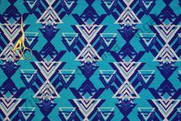 Треугольники бирюза кулирка Карде