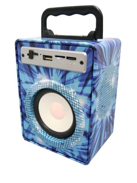 Колонка портативная c BLUETOOTH MP3 Орбита KTS-883 (УЦЕНКА !!! ТОВАР ПОСЛЕ РЕМОНТА)