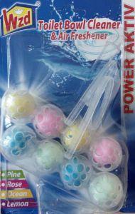 Гигиенические шарики для унитаза WZD, набор 2 блока 4 в 1