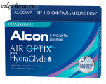 Air Optix HydraGlyde, 3 шт