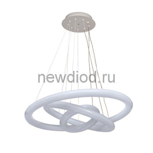 Управляемый светодиодный светильник Гравитация  80W R-648-WHITE-220V-IP44
