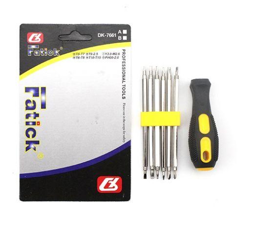 Набор отверток для ремонта электроники Fatick 7661A