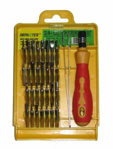 Набор отверток для ремонта электроники Impacter 6032E