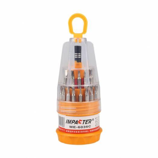 Набор отверток для ремонта электроники Impacter 6036С