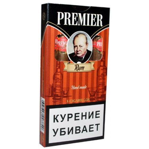 Сигариллы Premier Rum 5 шт.