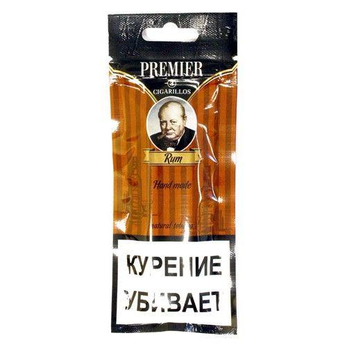 Сигариллы Premier Rum 3 шт.