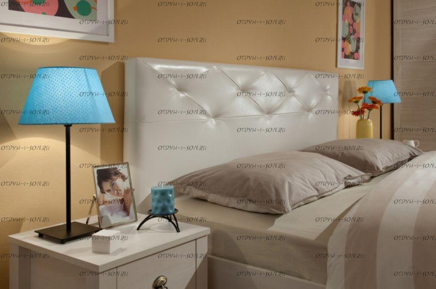 Кровать Бриз-Люкс с подъемным механизмом (Спальня)
