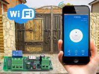 Sonoff Wi-Fi толчковый переключатель Sonoff  5-32 вольт (работает с IOS и Android)
