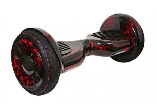 Гироскутер Smart Balance 10 NEW AQUA Самобаланс APP Молния Красная