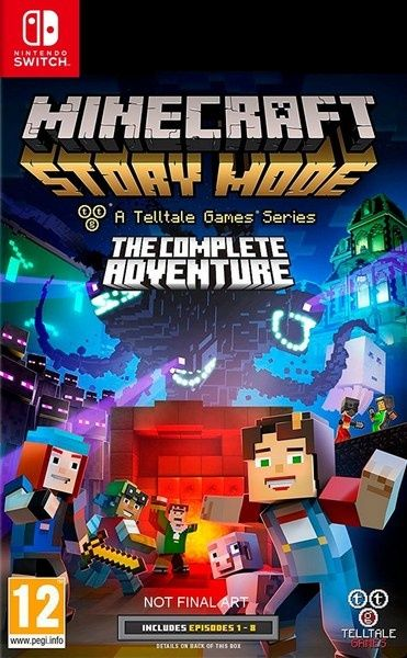 Игра Minecraft Story Mode (Nintendo Switch)