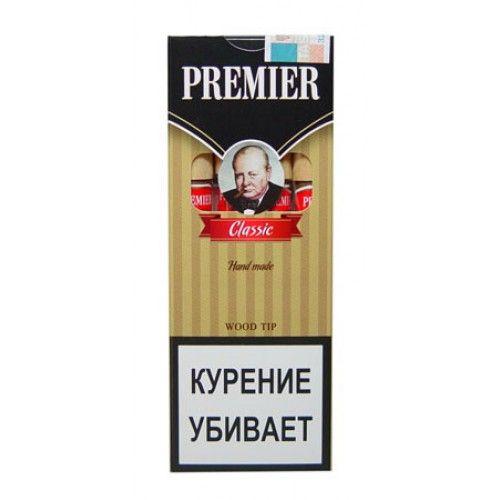 Сигариллы Premier Classic с мундштуком 4 шт.