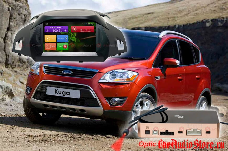 Redpower 31151 DVD Ford Kuga 2