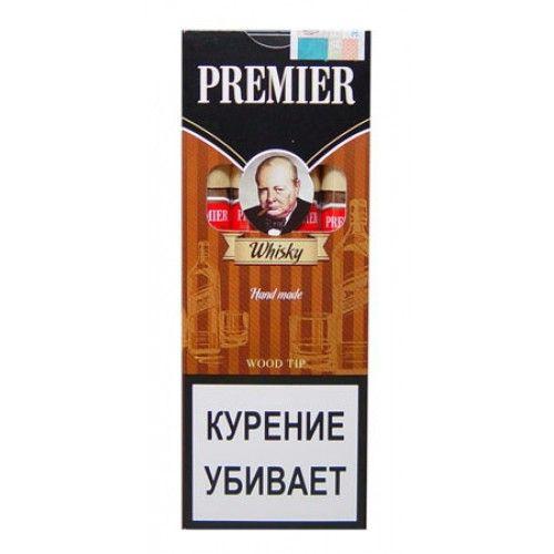 Сигариллы Premier Whisky с мундштуком 4 шт.