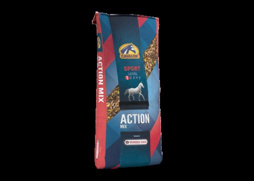 Action Mix мюсли для спортивных, активных и молодых лошадей 22 кг Cavalor
