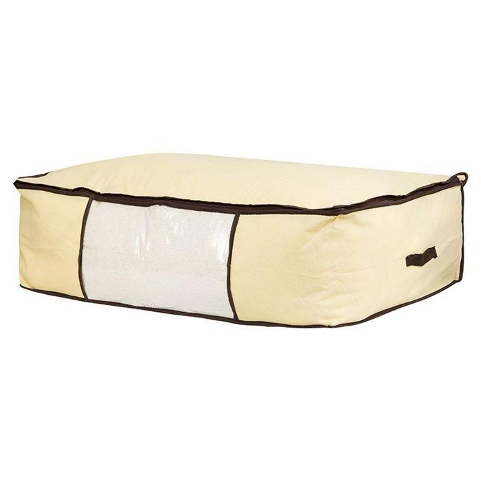Мягкий кофр-чехол на молнии для хранения одеял, пледов и домашнего текстиля Guarda Mantas