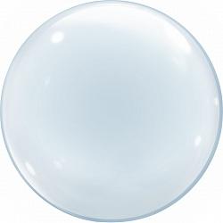 Сфера 3D, Deko Bubble 30''/ 76 см, прозрачный, Китай
