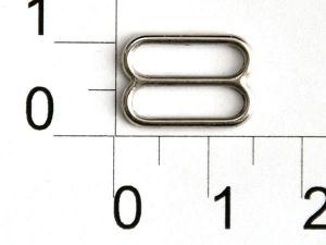`Регулятор, цвет- никель, металл, ширина 12 мм