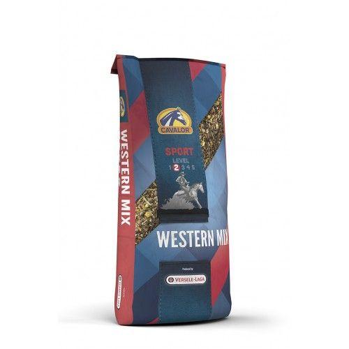Western Mix мюсли для пород лошадей Вестерн направления 20 кг Cavalor