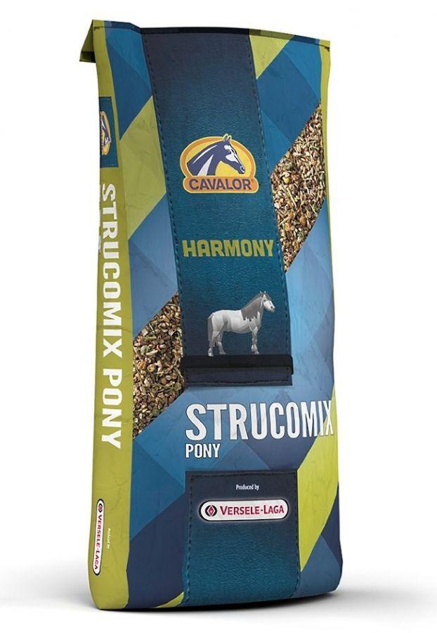 Strucomix Pony мюсли без овса специально для пони 15 кг Cavalor