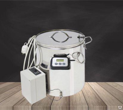 Мини сыроварня Бергманн с блоком автоматики, 12, 20 или 30 литров
