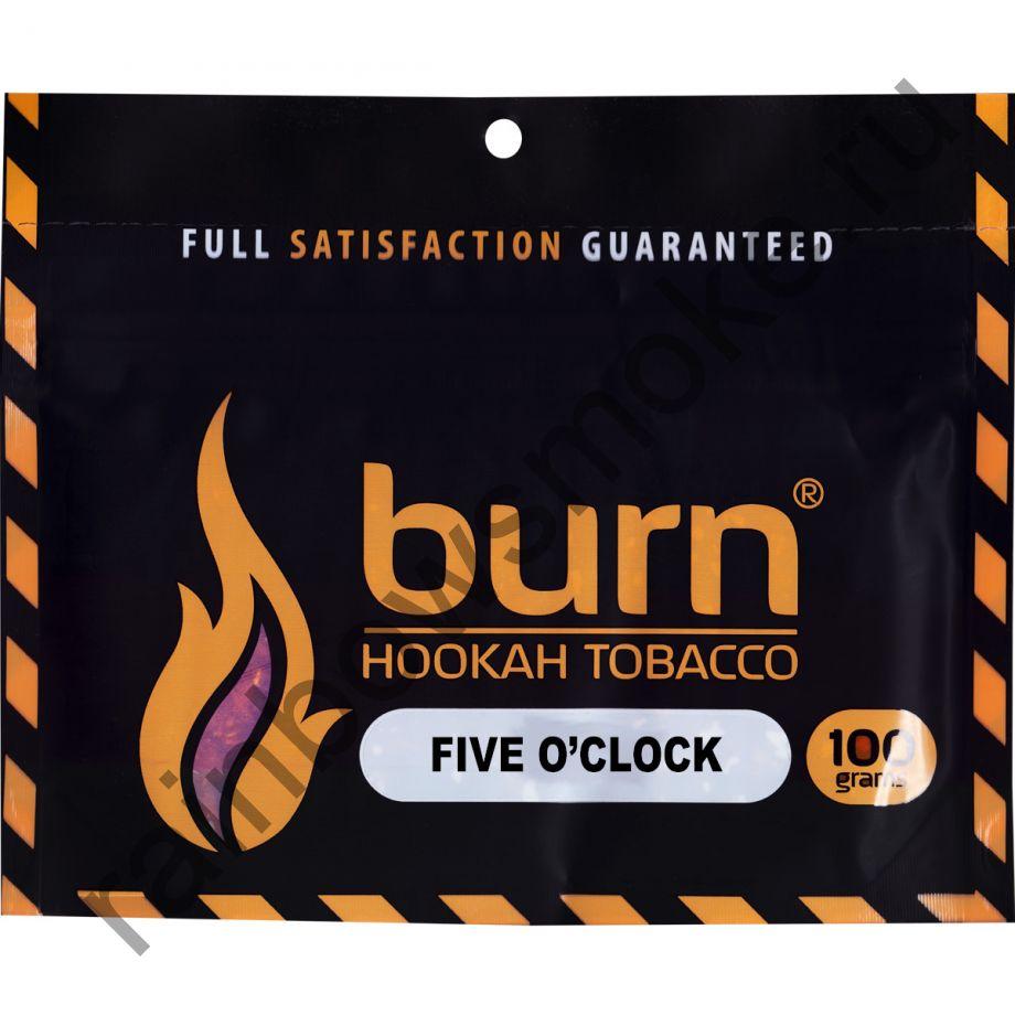 Burn 100 гр - Five o'clock (Пять часов)