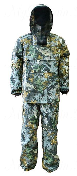 Костюм Антигнус люкс с ловушкой (ткань смесовая 65/35) раз 60-62/ темный лес