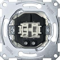 Merten Мех QuickFlex Выключатель 2-клавишный с/п, 10А