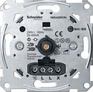 Merten Мех Светорегулятор поворотный универсальный 20-420ВТ