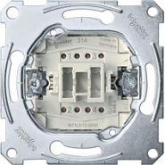 Merten Мех QuickFlex Выключатель 1-клавишный 2-полюсный (контрольный)