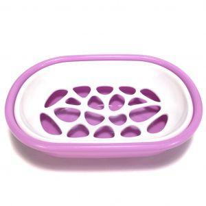 Пластиковая мыльница со съемным отделением SOAP BOX