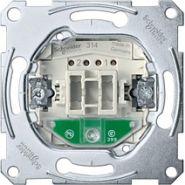 Merten Мех QuickFlex Переключатель 1-клавишный с индикацией безвинт.зажим
