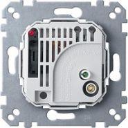Merten Мех Терморегулятор-выключатель 10A 230В