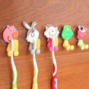 """Держатель для зубной щетки на присоске """"Забавные животные"""""""