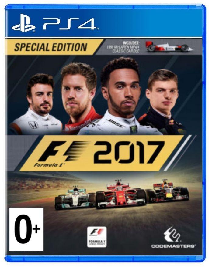 Игра F1 2017 (PS4)