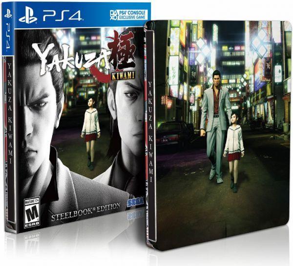 Игра Yakuza Kiwami (PS4) Издание Steelbook