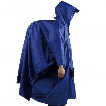 Плащ Пончо с чехлом (темно синий) раз. 60-62