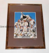 Автографы: экипажа «Аполлон-12» - Пит Конрад, Ричард Фрэнсис Гордон, Алан Бин. Редкость