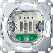 Merten Механизм 1-полюсного выключателя с замык. контактом