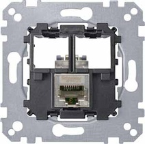 Merten Actassi розетка телекоммун 1xRJ45 Cat5e FTP