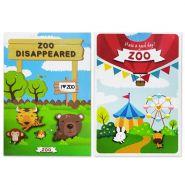 """Детские карты """"Куда исчез зоопарк?"""""""