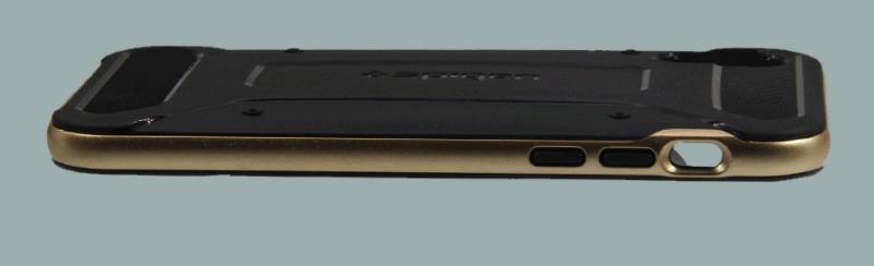Чехол  Neo Hybrid Carbon для iPhoen X (золотой)