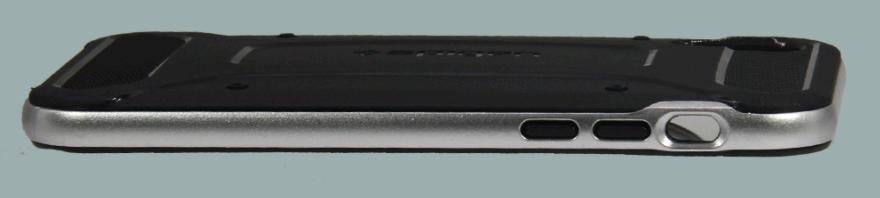 Чехол  Neo Hybrid Carbon для iPhoen X (серебро)