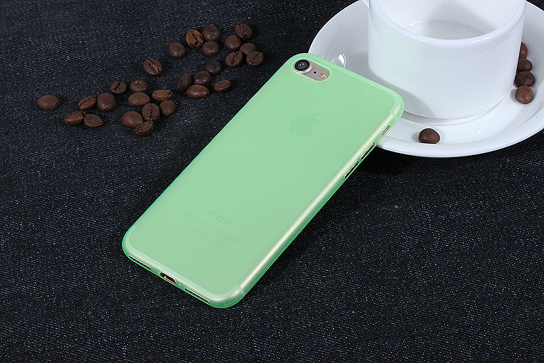УЛЬТРА ТОНКИЙ ЧЕХОЛ 0.3ММ ДЛЯ IPHONE X  (Зеленый)