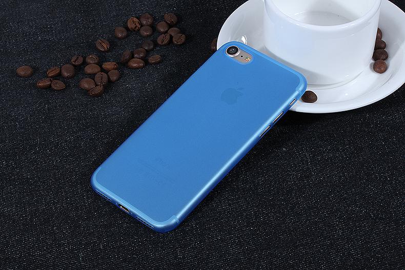 УЛЬТРА ТОНКИЙ ЧЕХОЛ 0.3ММ ДЛЯ IPHONE X  (Синий)