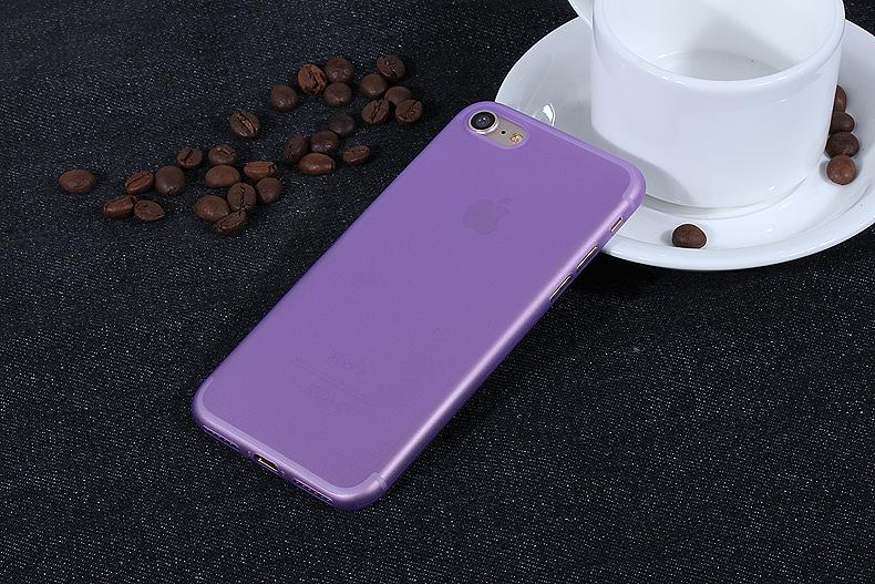 УЛЬТРА ТОНКИЙ ЧЕХОЛ 0.3ММ ДЛЯ IPHONE X (Фиолетовый)
