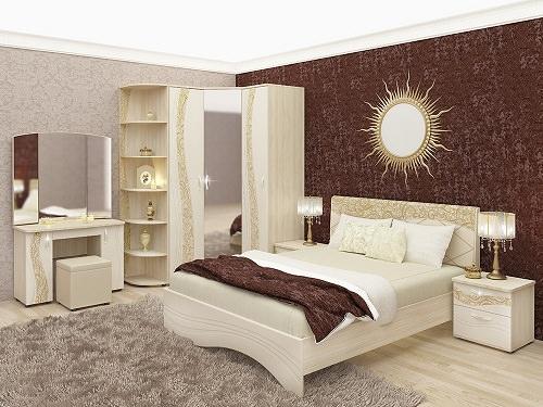Модульная спальня «Соната»