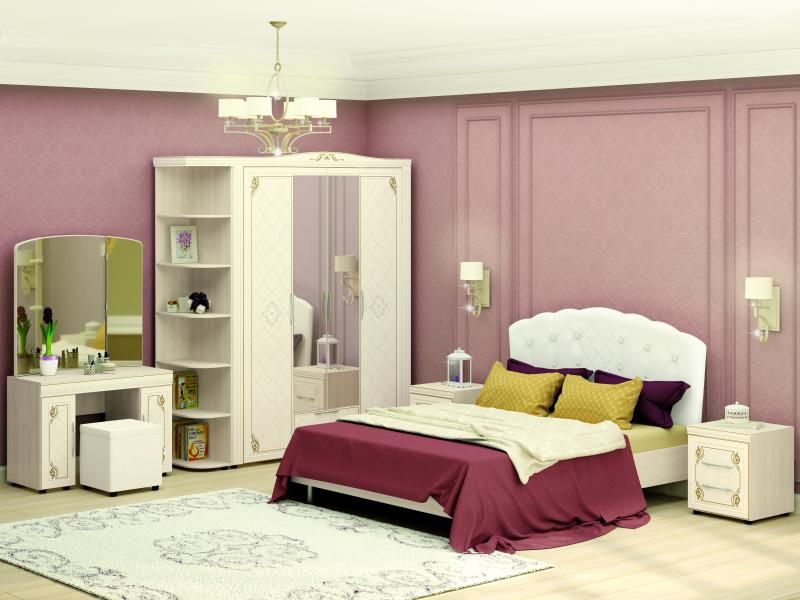Модульная спальня «Версаль»